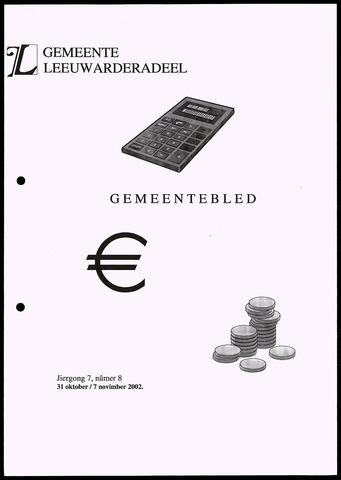 Notulen van de gemeenteraad van Leeuwarderadeel 2002-10-31