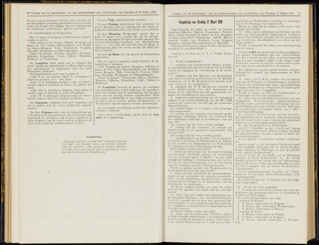 Raadsverslagen van de gemeente Leeuwarden, 1865-2007 (Notulen) 1918-03-12