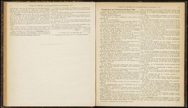 Raadsverslagen van de gemeente Leeuwarden, 1865-2007 (Notulen) 1872-03-28