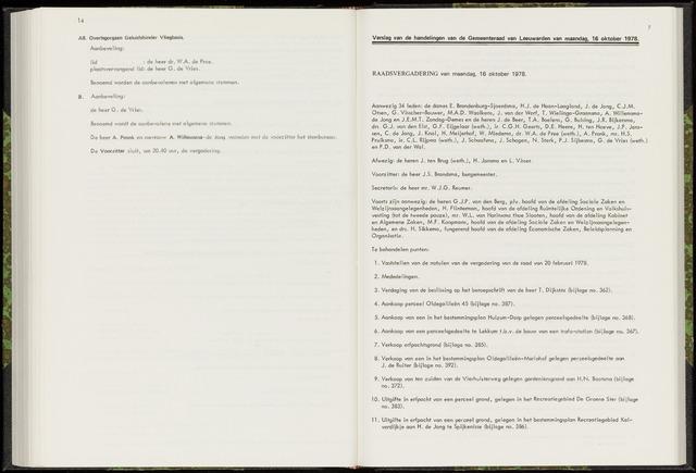 Raadsverslagen van de gemeente Leeuwarden, 1865-2007 (Notulen) 1976-10-16