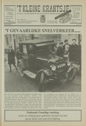 't Kleine Krantsje, 1964-1997 1973-05-05