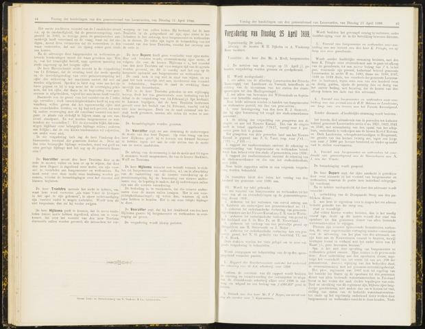 Raadsverslagen van de gemeente Leeuwarden, 1865-2007 (Notulen) 1899-04-25