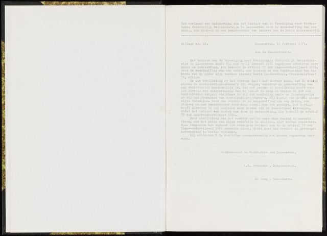 Raadsverslagen van de gemeente Leeuwarden, 1865-2007 (Bijlagen) 1971-01-01