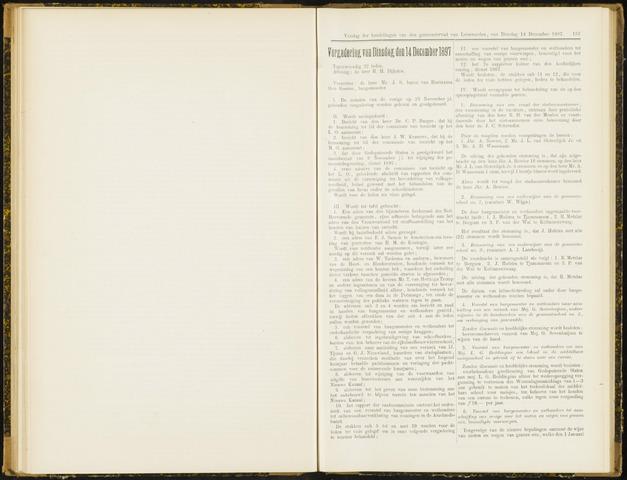Raadsverslagen van de gemeente Leeuwarden, 1865-2007 (Notulen) 1897-12-14