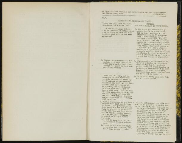 Raadsverslagen van de gemeente Leeuwarden, 1865-2007 (Schriftelijke vragen) 1946-01-01