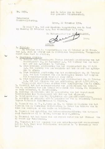 raadsverslagen Idaarderadeel 1935-1983 1954-11-29