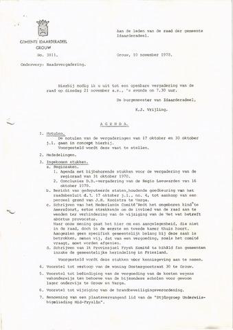 raadsverslagen Idaarderadeel 1935-1983 1978-11-21