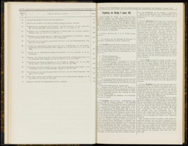 Raadsverslagen van de gemeente Leeuwarden, 1865-2007 (Notulen) 1915