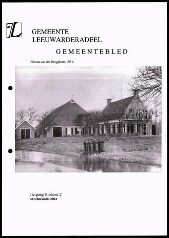 Notulen van de gemeenteraad van Leeuwarderadeel 2004-02-26