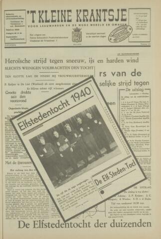 't Kleine Krantsje, 1964-1997 1970-01-24