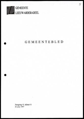 Notulen van de gemeenteraad van Leeuwarderadeel 1997-06-26