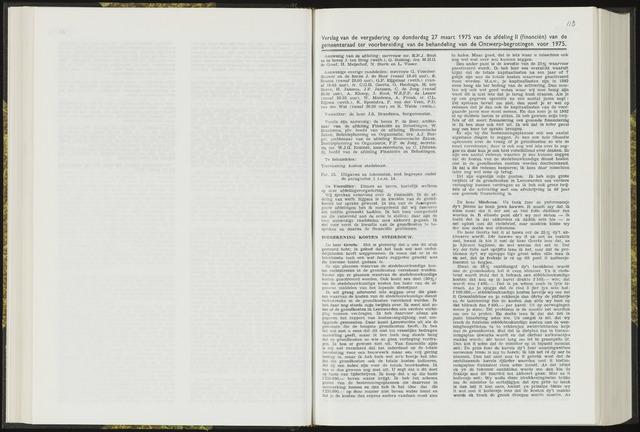 Raadsverslagen van de gemeente Leeuwarden, 1865-2007 (Notulen) 1975-03-27