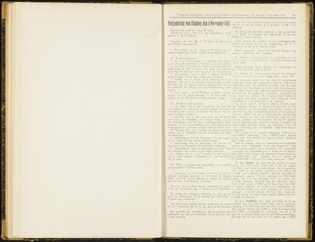 Raadsverslagen van de gemeente Leeuwarden, 1865-2007 (Notulen) 1897-11-09