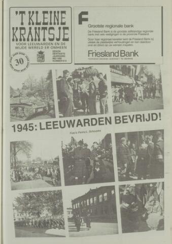 't Kleine Krantsje, 1964-1997 1995-05-01