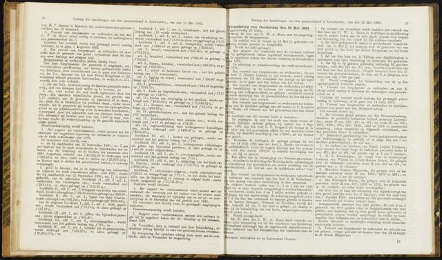Raadsverslagen van de gemeente Leeuwarden, 1865-2007 (Notulen) 1882-05-25