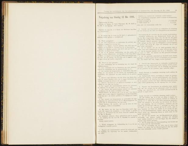 Raadsverslagen van de gemeente Leeuwarden, 1865-2007 (Notulen) 1896-05-12