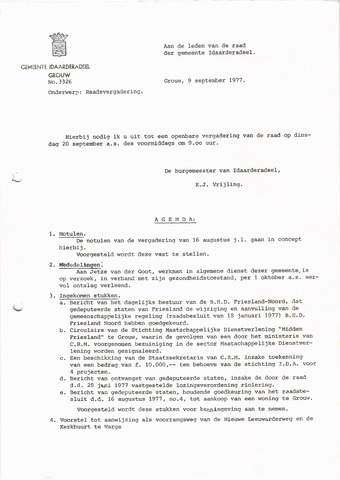 raadsverslagen Idaarderadeel 1935-1983 1977-09-20