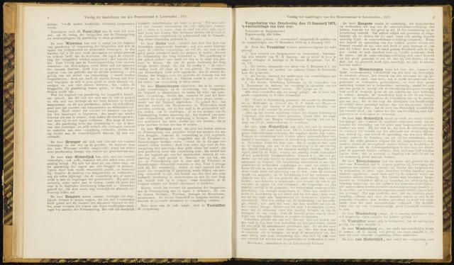 Raadsverslagen van de gemeente Leeuwarden, 1865-2007 (Notulen) 1871-01-12