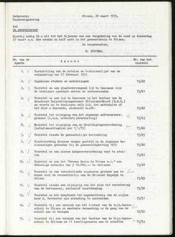 Notulen van de gemeenteraad van Leeuwarderadeel 1975-02-27