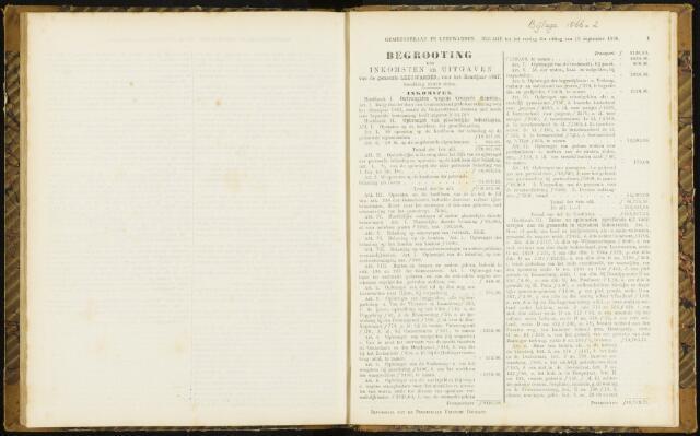 Raadsverslagen van de gemeente Leeuwarden, 1865-2007 (Bijlagen) 1866-01-01