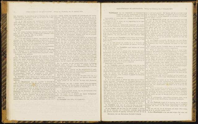 Raadsverslagen van de gemeente Leeuwarden, 1865-2007 (Notulen) 1869-02-06