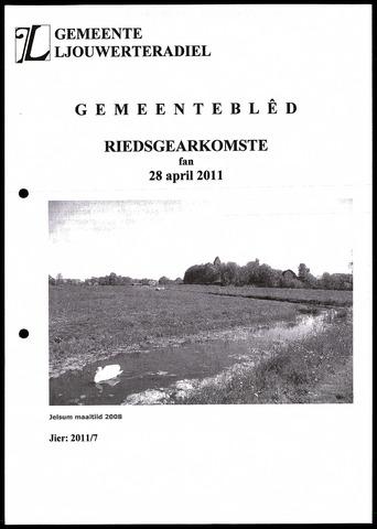 Notulen van de gemeenteraad van Leeuwarderadeel 2011-04-28