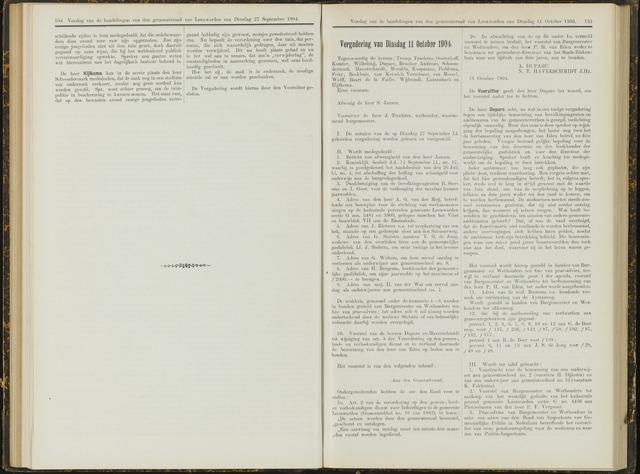 Raadsverslagen van de gemeente Leeuwarden, 1865-2007 (Notulen) 1904-10-11