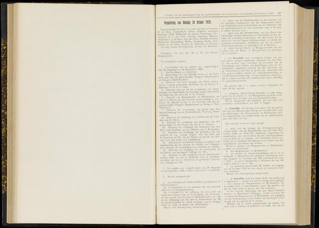 Raadsverslagen van de gemeente Leeuwarden, 1865-2007 (Notulen) 1928-10-30