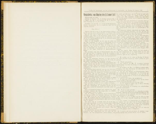 Raadsverslagen van de gemeente Leeuwarden, 1865-2007 (Notulen) 1897