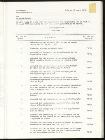Notulen van de gemeenteraad van Leeuwarderadeel 1978-03-23
