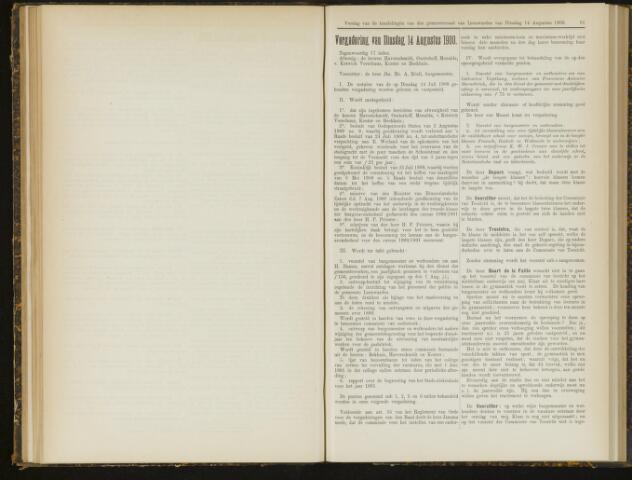 Raadsverslagen van de gemeente Leeuwarden, 1865-2007 (Notulen) 1900-08-14