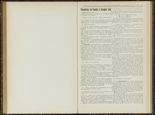 Raadsverslagen van de gemeente Leeuwarden, 1865-2007 (Notulen) 1900-12-11
