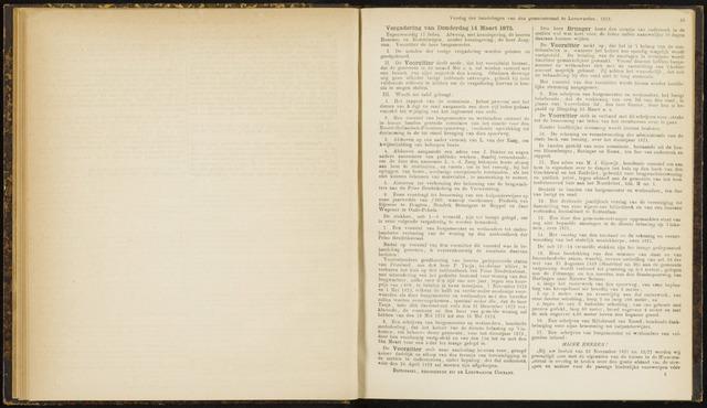 Raadsverslagen van de gemeente Leeuwarden, 1865-2007 (Notulen) 1872-03-14