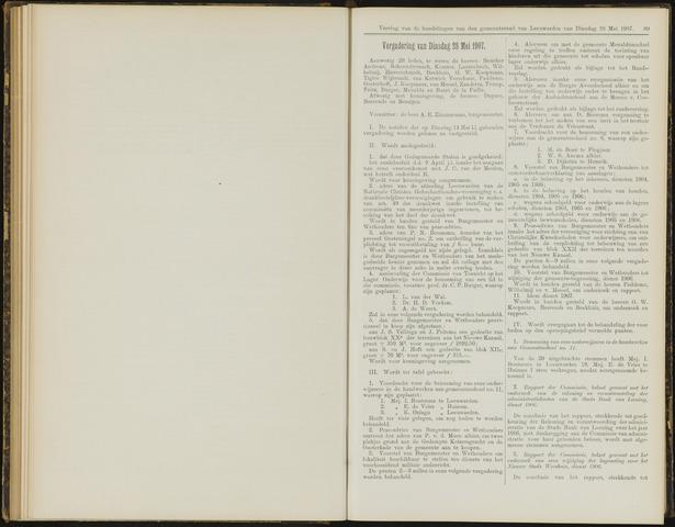 Raadsverslagen van de gemeente Leeuwarden, 1865-2007 (Notulen) 1907-05-28