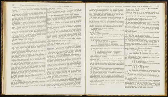 Raadsverslagen van de gemeente Leeuwarden, 1865-2007 (Notulen) 1881-11-24