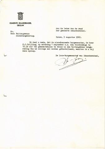raadsverslagen Idaarderadeel 1935-1983 1962-09-01