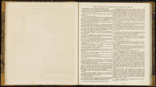 Raadsverslagen van de gemeente Leeuwarden, 1865-2007 (Notulen) 1875-03-25