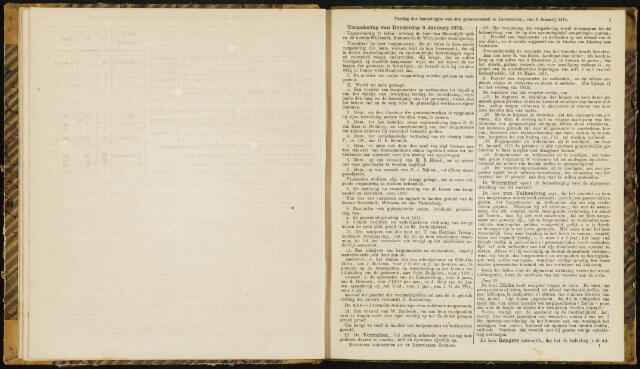 Raadsverslagen van de gemeente Leeuwarden, 1865-2007 (Notulen) 1874