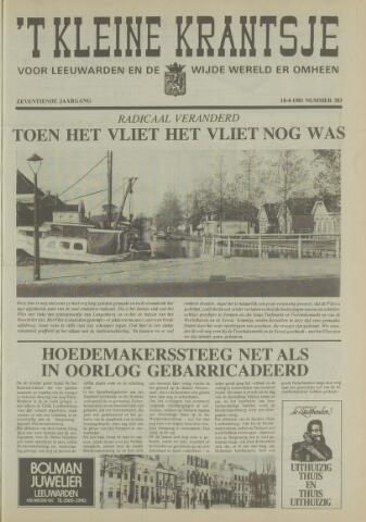 't Kleine Krantsje, 1964-1997 1981-04-18