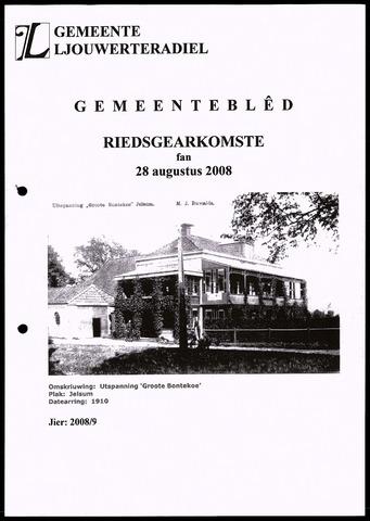 Notulen van de gemeenteraad van Leeuwarderadeel 2008-08-28