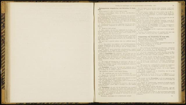 Raadsverslagen van de gemeente Leeuwarden, 1865-2007 (Notulen) 1871-06-17