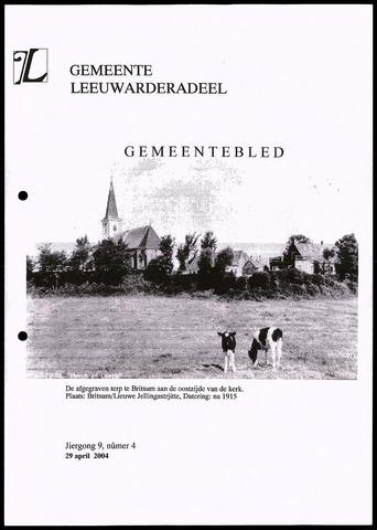 Notulen van de gemeenteraad van Leeuwarderadeel 2004-04-29
