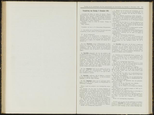 Raadsverslagen van de gemeente Leeuwarden, 1865-2007 (Notulen) 1906-12-11