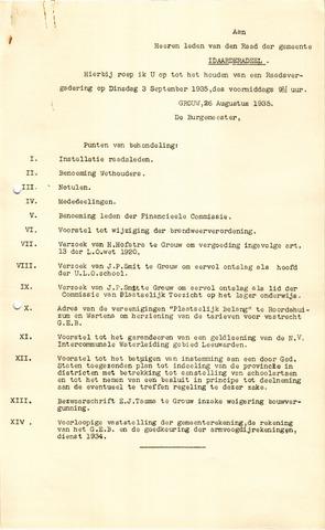 raadsverslagen Idaarderadeel 1935-1983 1935-09-03