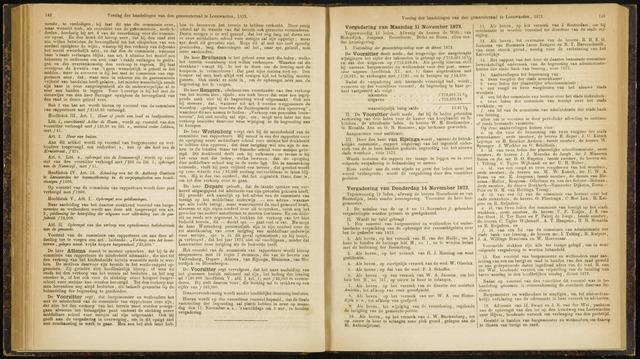Raadsverslagen van de gemeente Leeuwarden, 1865-2007 (Notulen) 1872-11-11