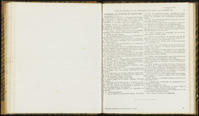 Raadsverslagen van de gemeente Leeuwarden, 1865-2007 (Notulen) 1882-08-10