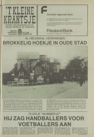 't Kleine Krantsje, 1964-1997 1986-02-22