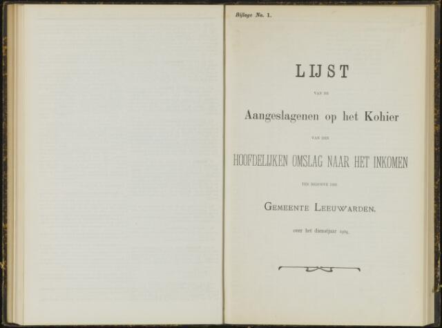 Raadsverslagen van de gemeente Leeuwarden, 1865-2007 (Bijlagen) 1904-01-01