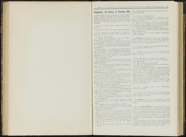 Raadsverslagen van de gemeente Leeuwarden, 1865-2007 (Notulen) 1905-12-12