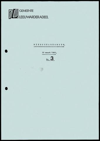 Notulen van de gemeenteraad van Leeuwarderadeel 1989-03-22